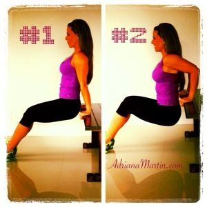 best athome arm exercise to get rid of flab behind your