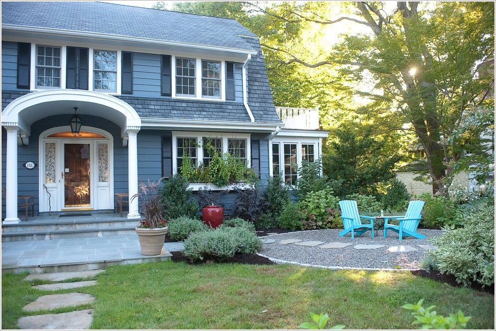 New England Front Yard Landscaping Ideas Part - 46: Ideas For Lanscaping: Free Access Landscaping Ideas For Front Of ...  Balcony HouseNew England ...