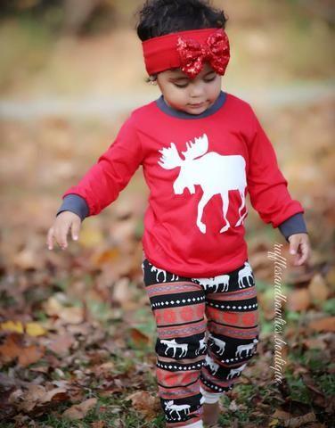 NEW Kiss Moose kids youth  Adult Family Matching Christmas Pj\u0027s