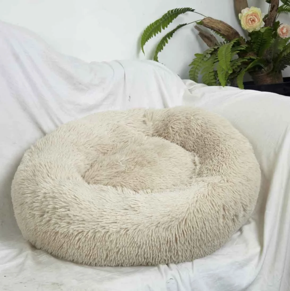 Comfy calming dog/cat bed Cat bed, Dog mattresses, Pet