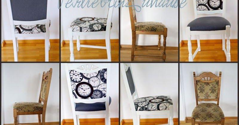 alte st hle neu gestalten und versch neren streichen lackieren und mit stoff neu beziehen. Black Bedroom Furniture Sets. Home Design Ideas