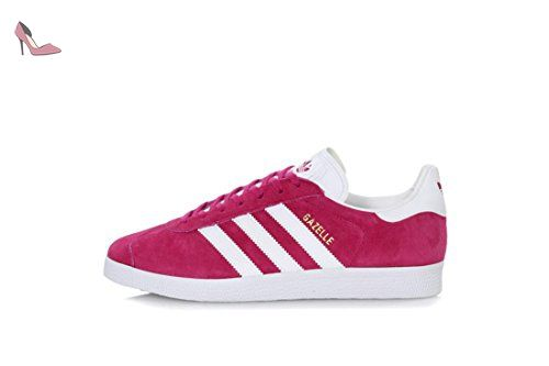 watch 8d64a cd909 adidas Gazelle chaussures 5,5 Rose Blanc Chaussures adidas