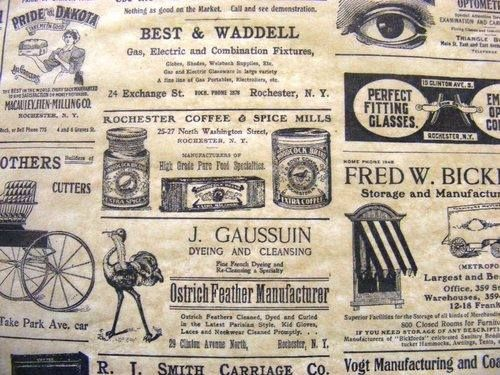 Vintage Newspaper Patterned Tissue Paper From Only £1.39 Per Pack