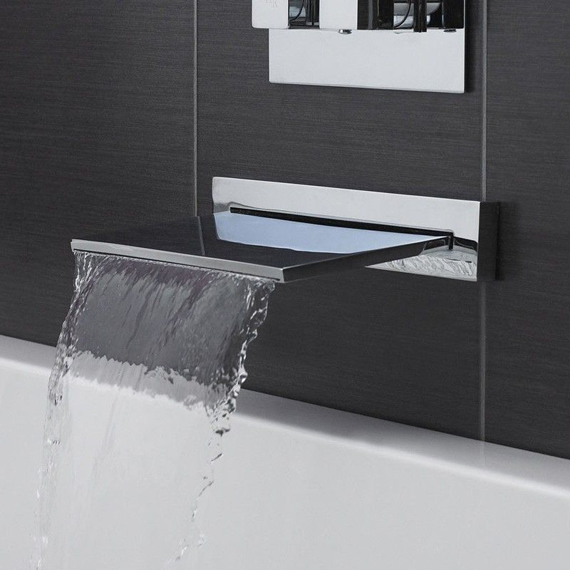 Wall Mounted Faucets Beautiful Tub Bathroom Faucets Bathroom