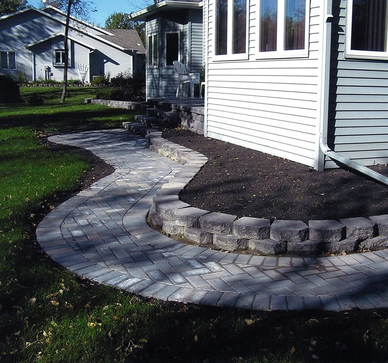 Homestead Gardens Landscaping: Walkways And Flower Beds