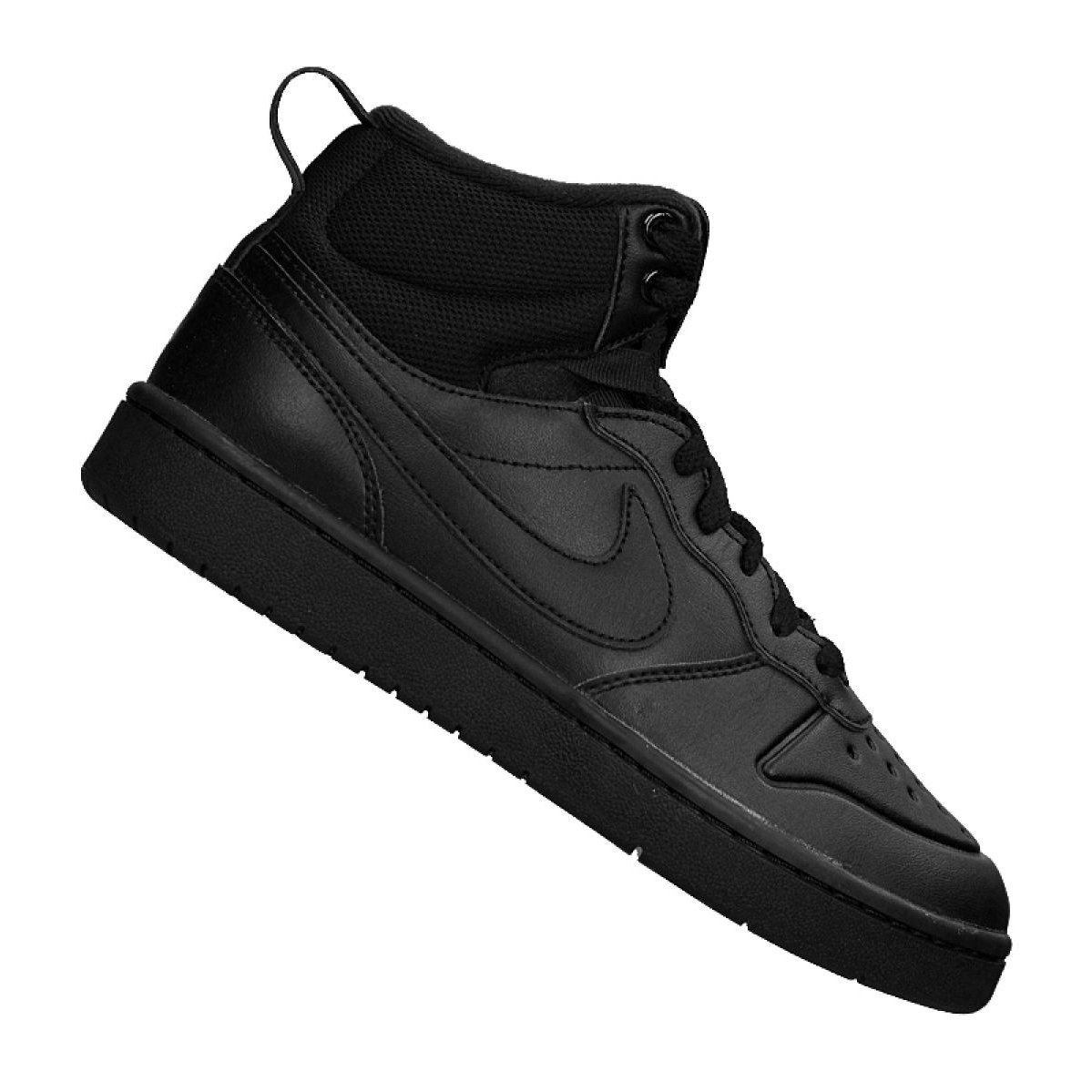 Buty Nike Court Borough Mid 2 Boot Gs Jr Bq5440 001 Czarne Nike Shoes Women Nike All Black Sneakers