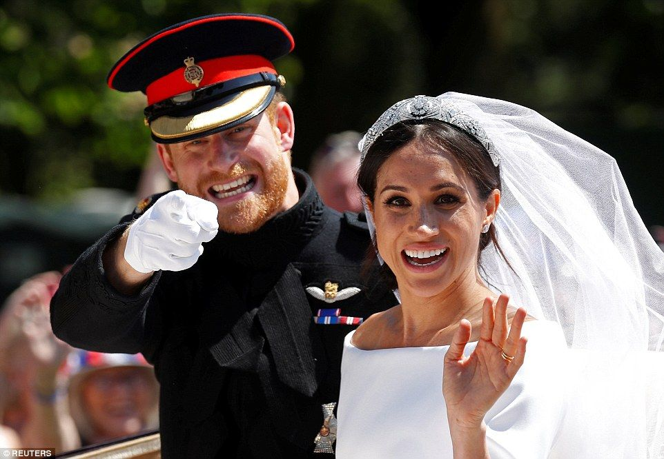 It's official! Prince Harry and Meghan Markle are officially married | Prince  harry and meghan, Harry and meghan wedding, Prince harry