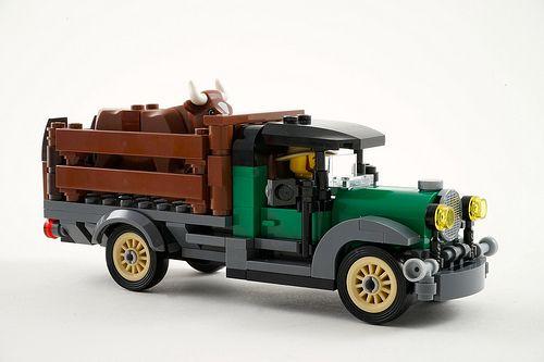 Lego Antique Car Moc Flickriver Random Photos From Lego Vintage