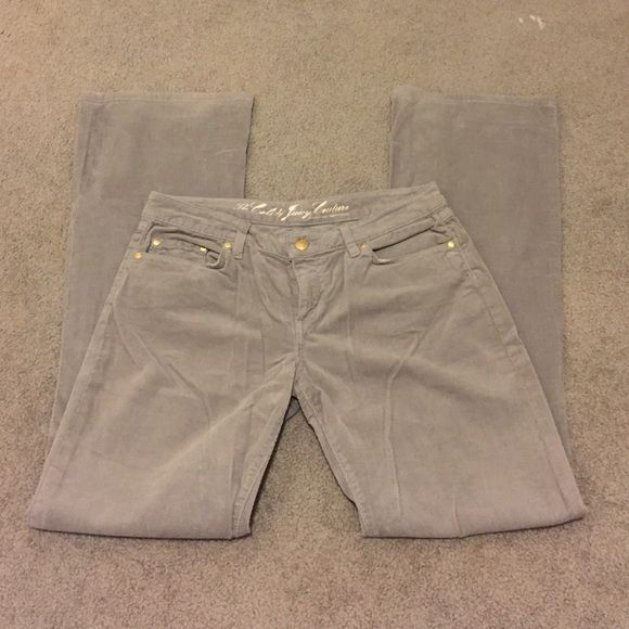 Juicy Couture pants Juicy Couture corduroy pants. In great condition. Accepting offers!  Juicy Couture Pants Boot Cut & Flare