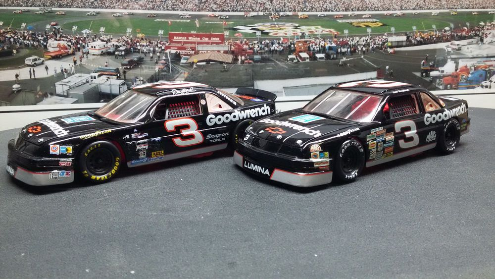 2 Car Lot Dale Earnhardt 3 Goodwrench Chevy Lumina Sport Image 1