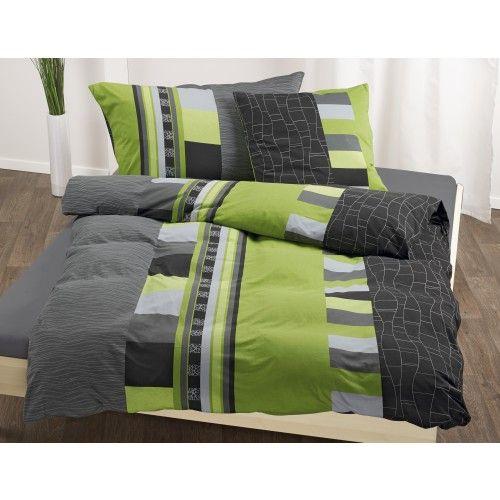 Bettwäsche Grün Grau Mit Muster Bettwäsche Bettwäsche Bett