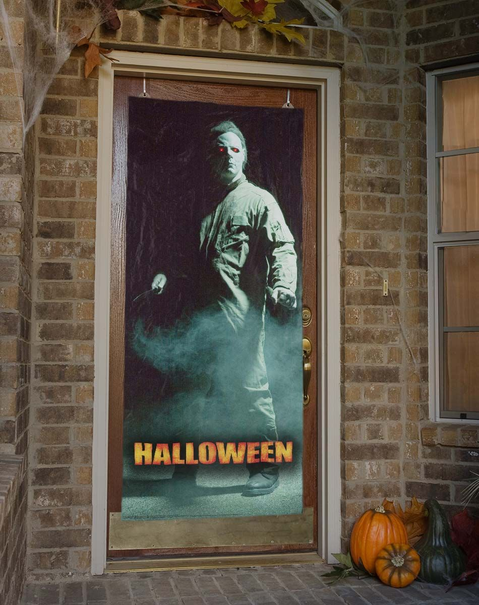 michael myers decor | ... Decorations / Door, Window and Wall ...