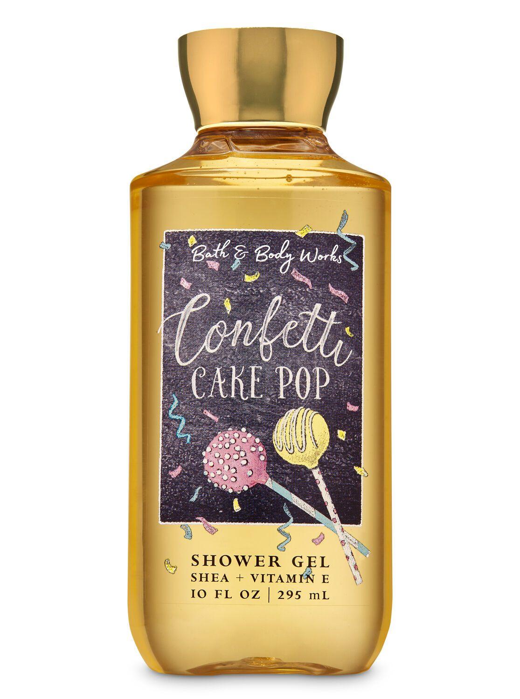 Confetti cake pop shower gel in 2020 shower gel bath