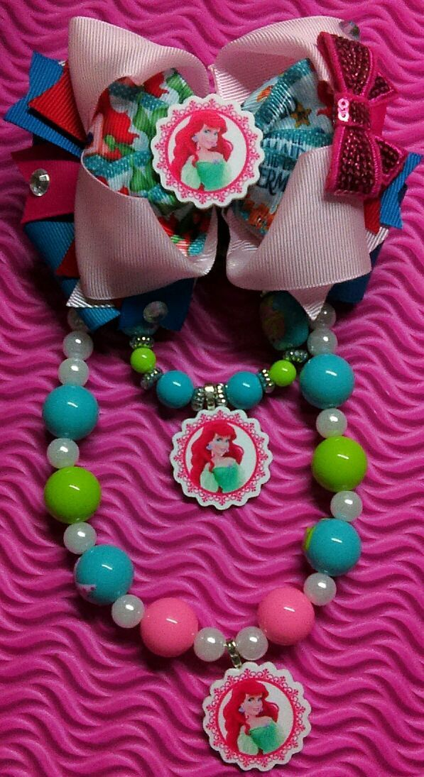Little Mermaid Jewelry Set