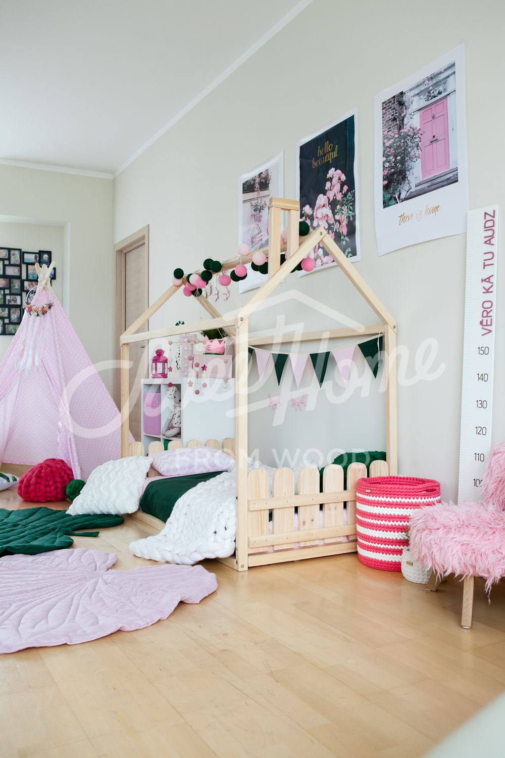 house bed frame, toddler bed house or kid bed with SLATS in 2018 ...