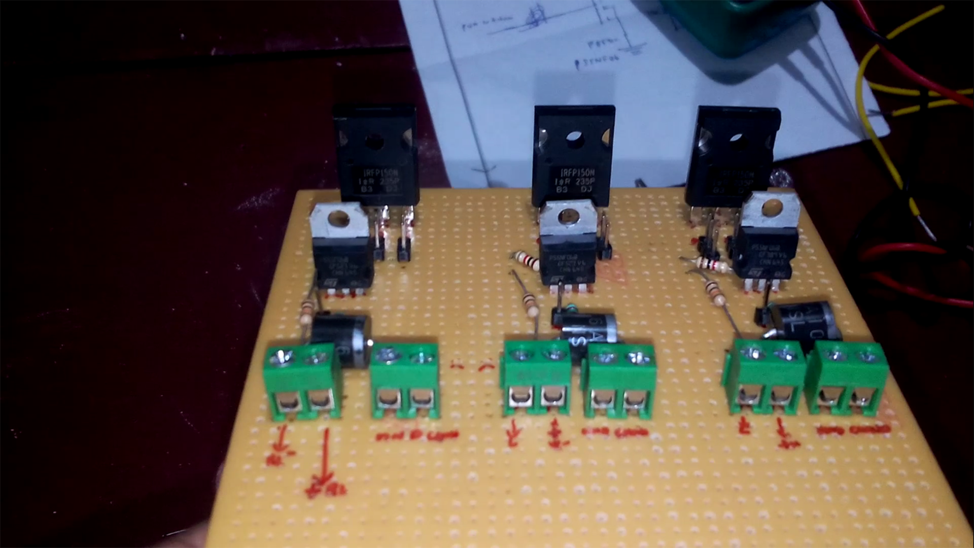 Diy 42amp Mosfet Based Pwm Motor Controller For Raspberry Pi Basics Circuits Arduino With