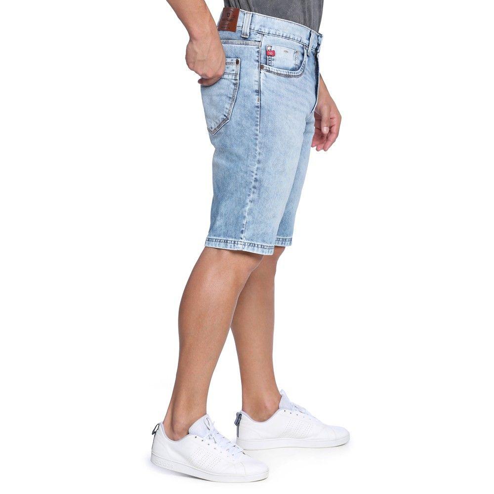 Bermuda Masculina Jeans Justa - Damyller  39abaa577f651