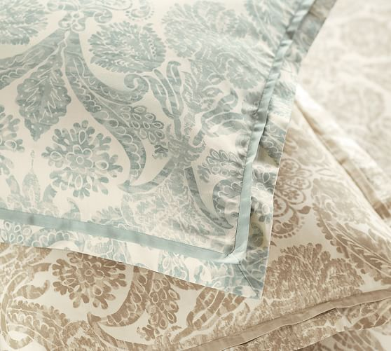 Samantha Damask Sateen Duvet Cover Damask Duvet Covers Duvet