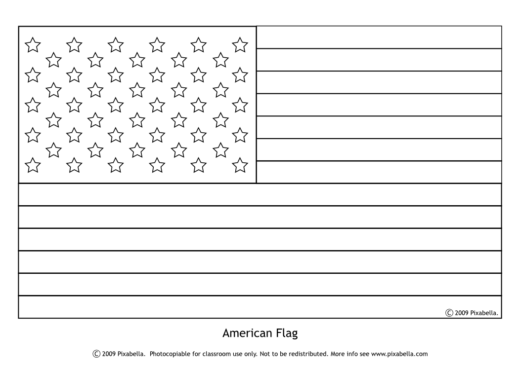 American Flag Stencil Pattern Corporate American Flag