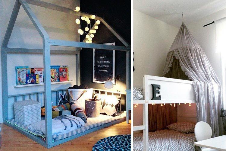 La cama kura en la decoraci n de habitaciones infantiles - Decoracion infantil ikea ...