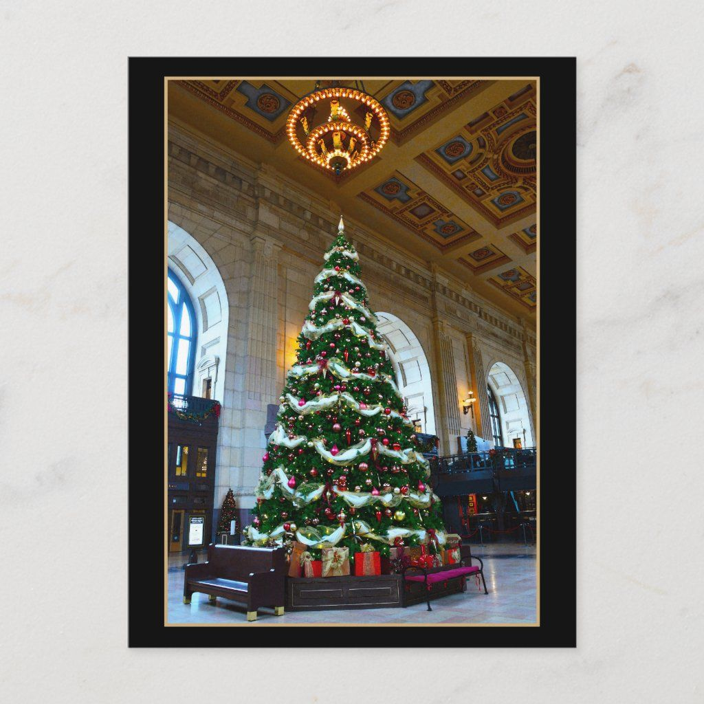 Union Station Christmas Tree, Kansas City Missouri Holiday
