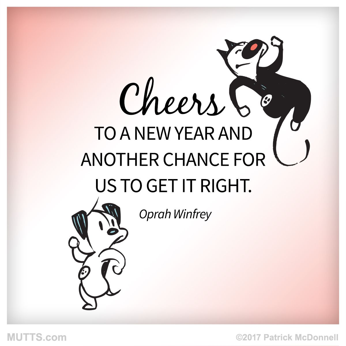 Happy New Year, and cheers to a great 2017! | MUTTS | mark your ...