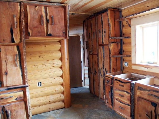 Image detail for -Rustic Style Custom Cabinets, Western Kitchen ...