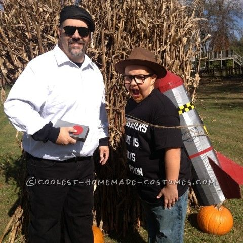 Cool Father and Son Mythbusters Couple Costume Costumes and - couples halloween costumes ideas unique