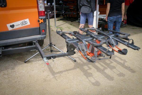 Soc17 Kuat Pivot Turns Any 2 Rack Into A Swing Away Platform