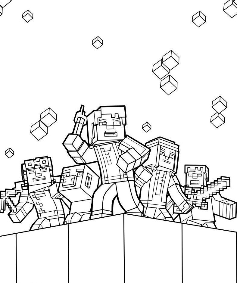 Malvorlagen Minecraft Um - tiffanylovesbooks