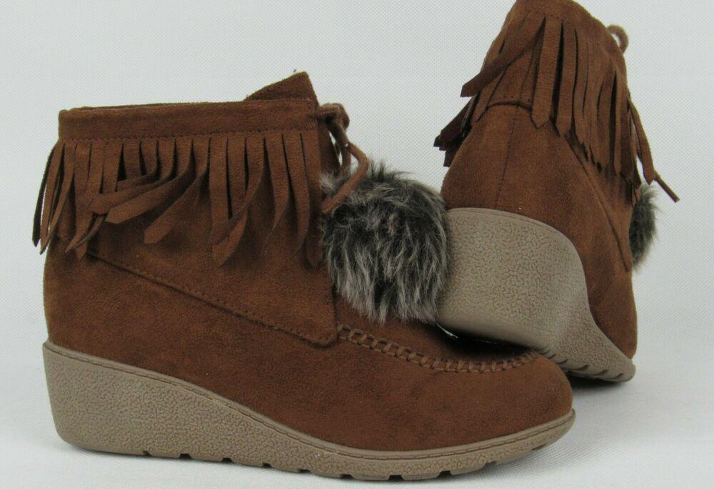Crazy 8 Short Winter Boots Girls Kids
