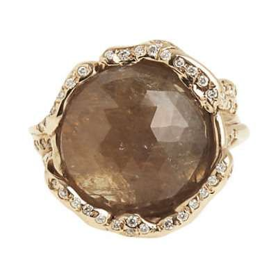 gold sapphire oval in ring with accents halo a white brown products diamond sapphirewith double