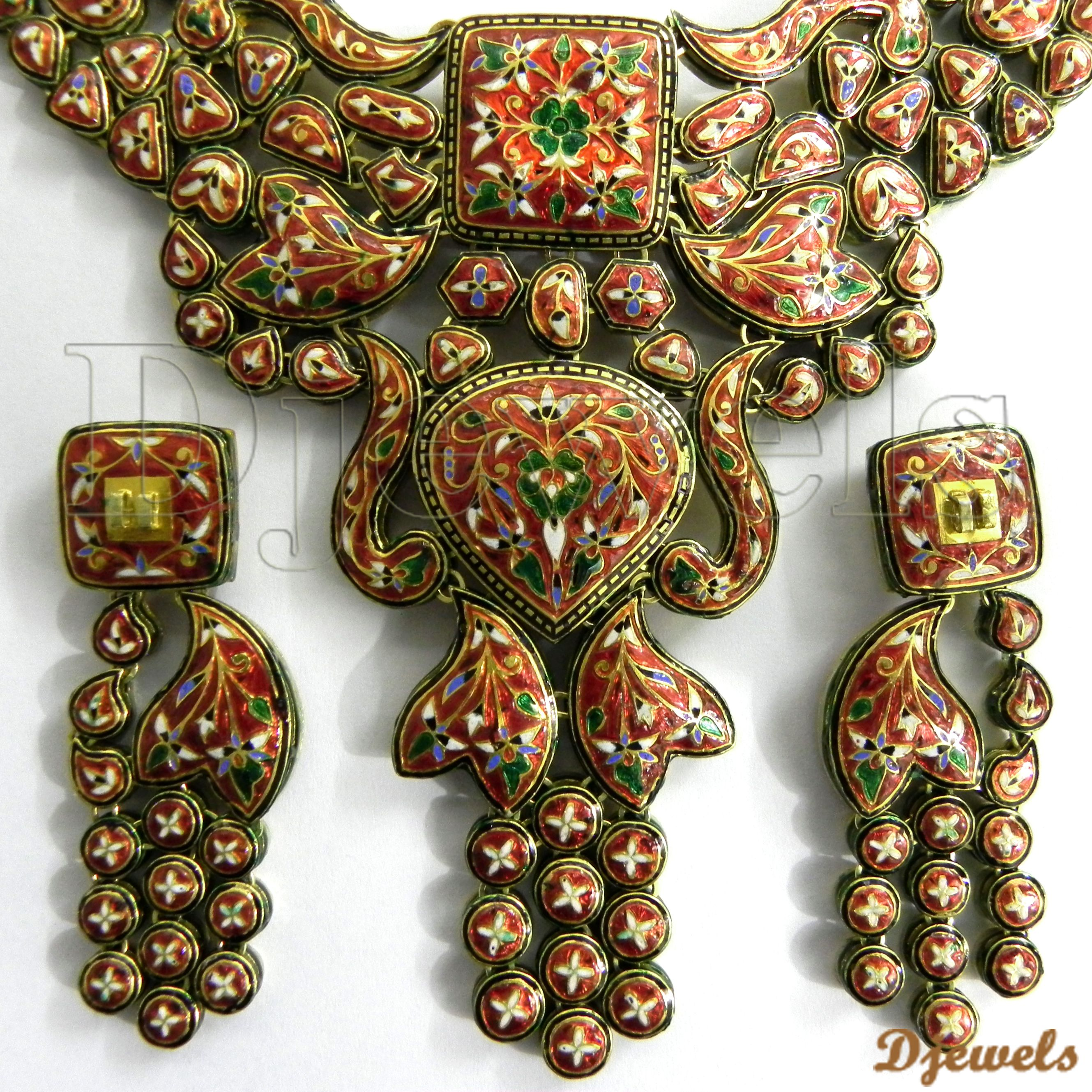 Hindu Jewelry Indian Kundan Polki Diamond Jewellery