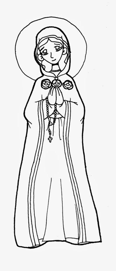Dibujos Para Catequesis Maria Rosa Mistica Rosa Mistica Imagenes De La Virgen Virgen Maria Dibujo