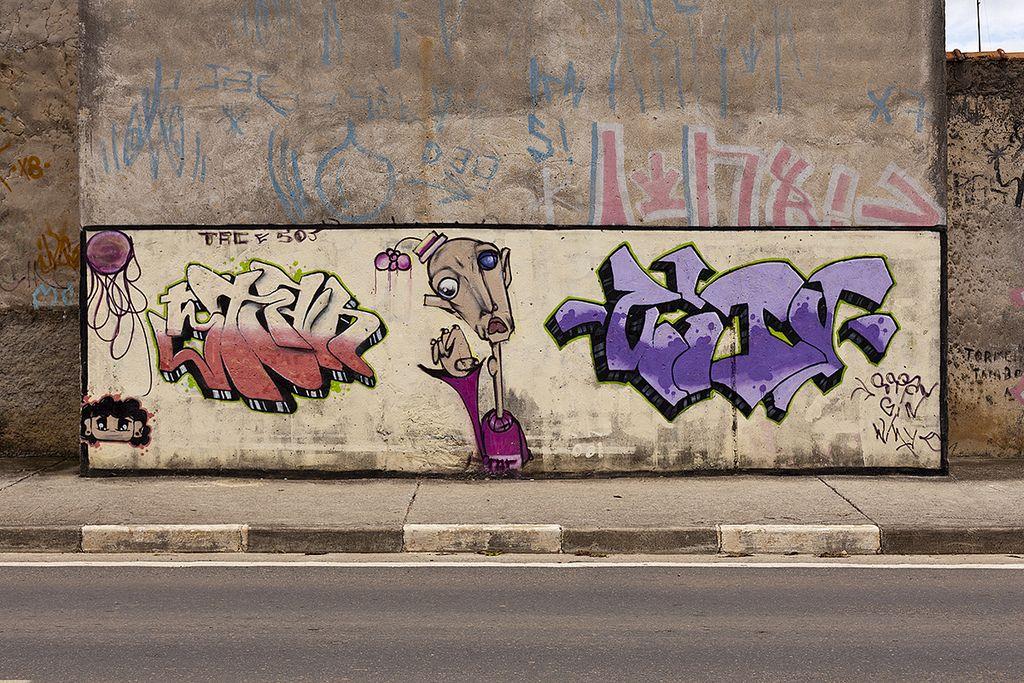 Jacarei Sp Graffiti Painting Art