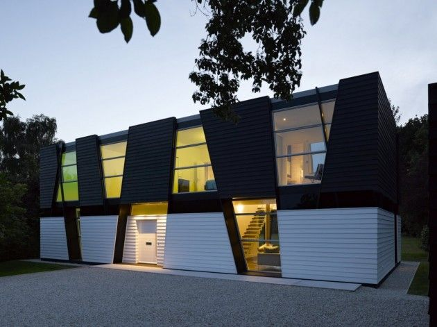 Matthew Heywood has designed the Trish House, located in Kent, United Kingdom.