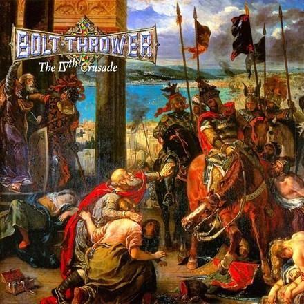 Bolt Thrower The Ivth Crusadev Vinyl Lp Death Metal Fotos Bandas