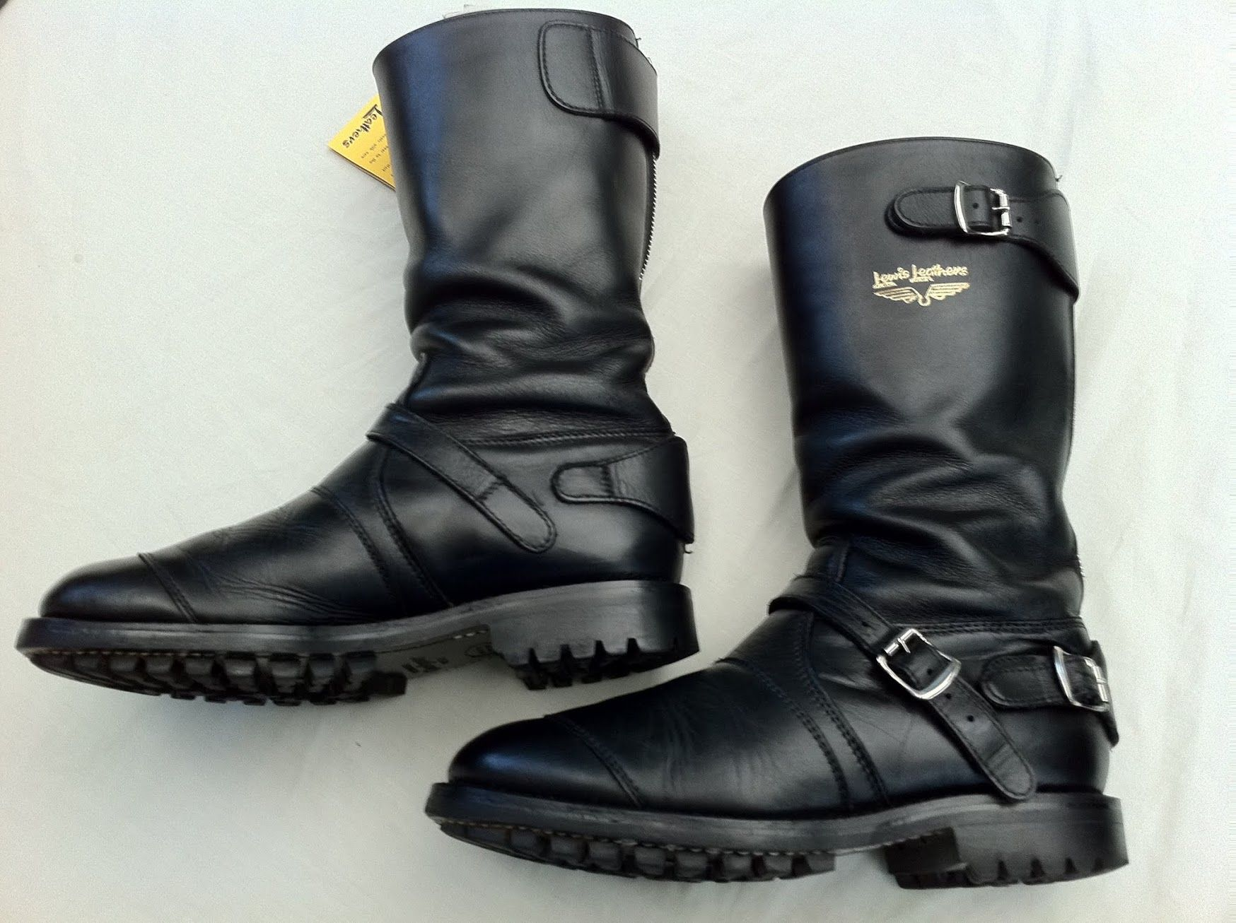 Lewis Leather Boots