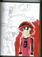 Sketchpage 8: Nobility: Darren Deckerd, aka Red by LanceOliverFreidom