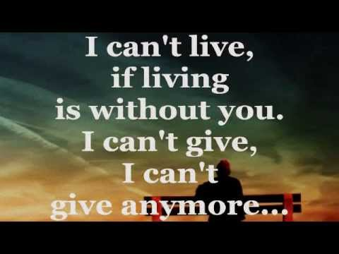 AIR SUPPLY WITHOUT YOU (Lyrics) YouTube Yours lyrics