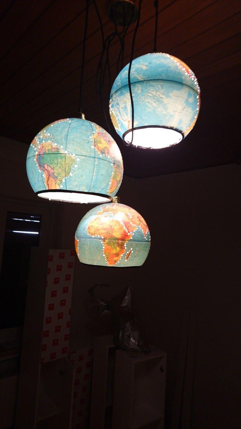 Storslåede Globus Lampe DIY | Meine DIY s | Globe MG84