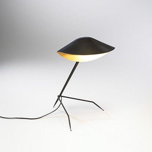 Trepied Tripod Lamp By Serge Mouille France 1954 Mouille Serge Mouille Trepied