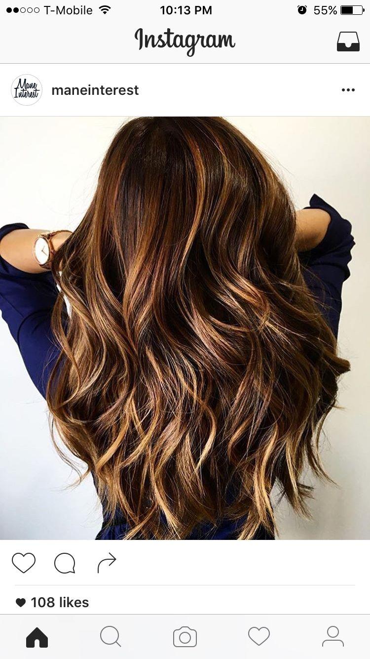 Hair inspo | hair | Haircut for thick hair, Balayage hair ...
