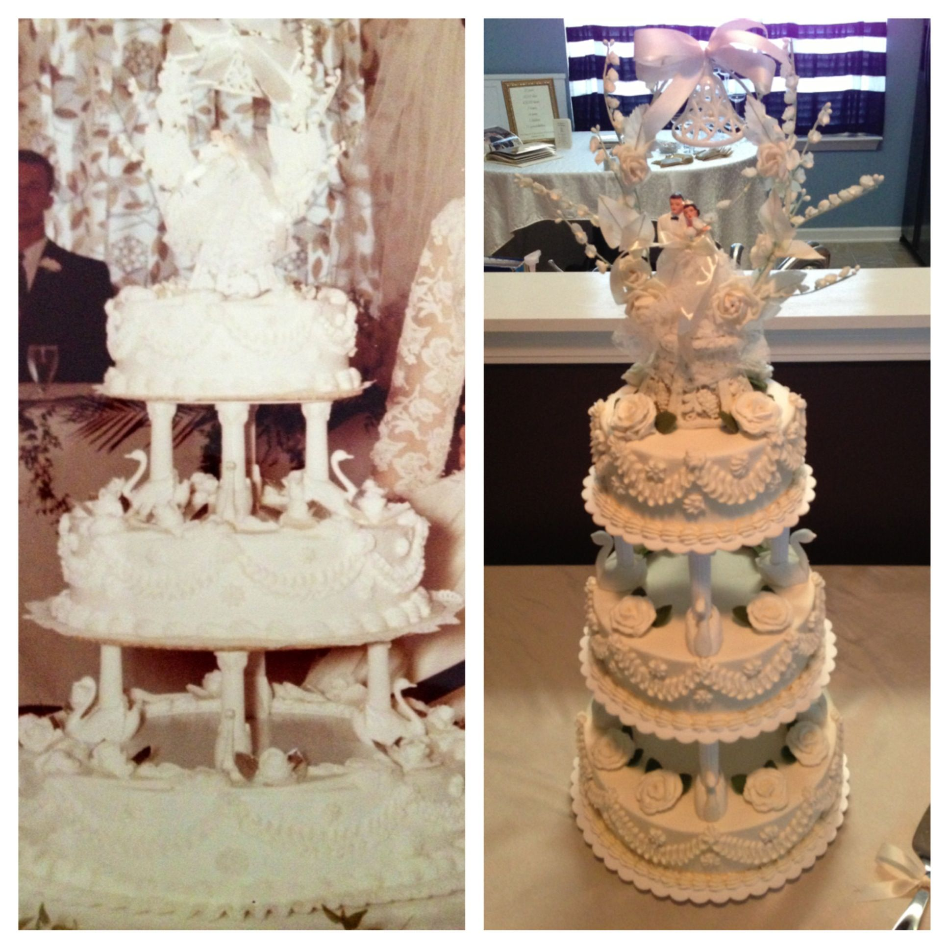 Wedding Cake Recipe Custom History: My Attempt At Replicating A Wedding Cake For A Golden