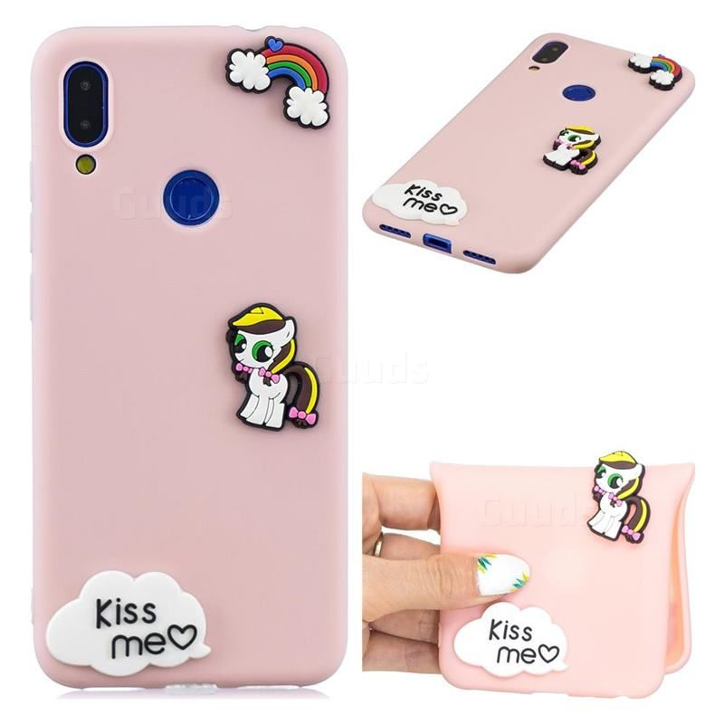 Kiss Me Pony Soft 3d Silicone Case For Xiaomi Mi Redmi Note 7 Note 7 Pro Xiaomi Redmi Note 7 Note 7 Pro Cases Guuds Silicon Case Note 7 Case