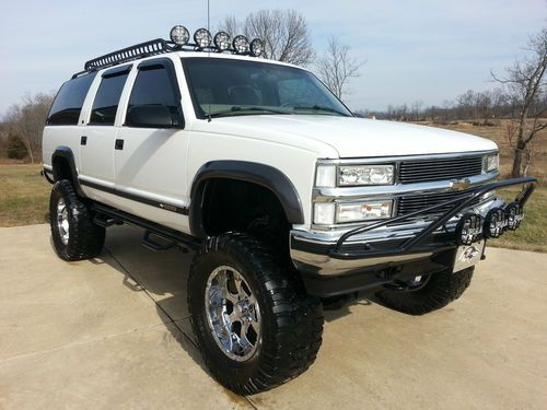 97 Diesel Suburban 4x4 Lifted 4x4 And Off Road Forum Chevy