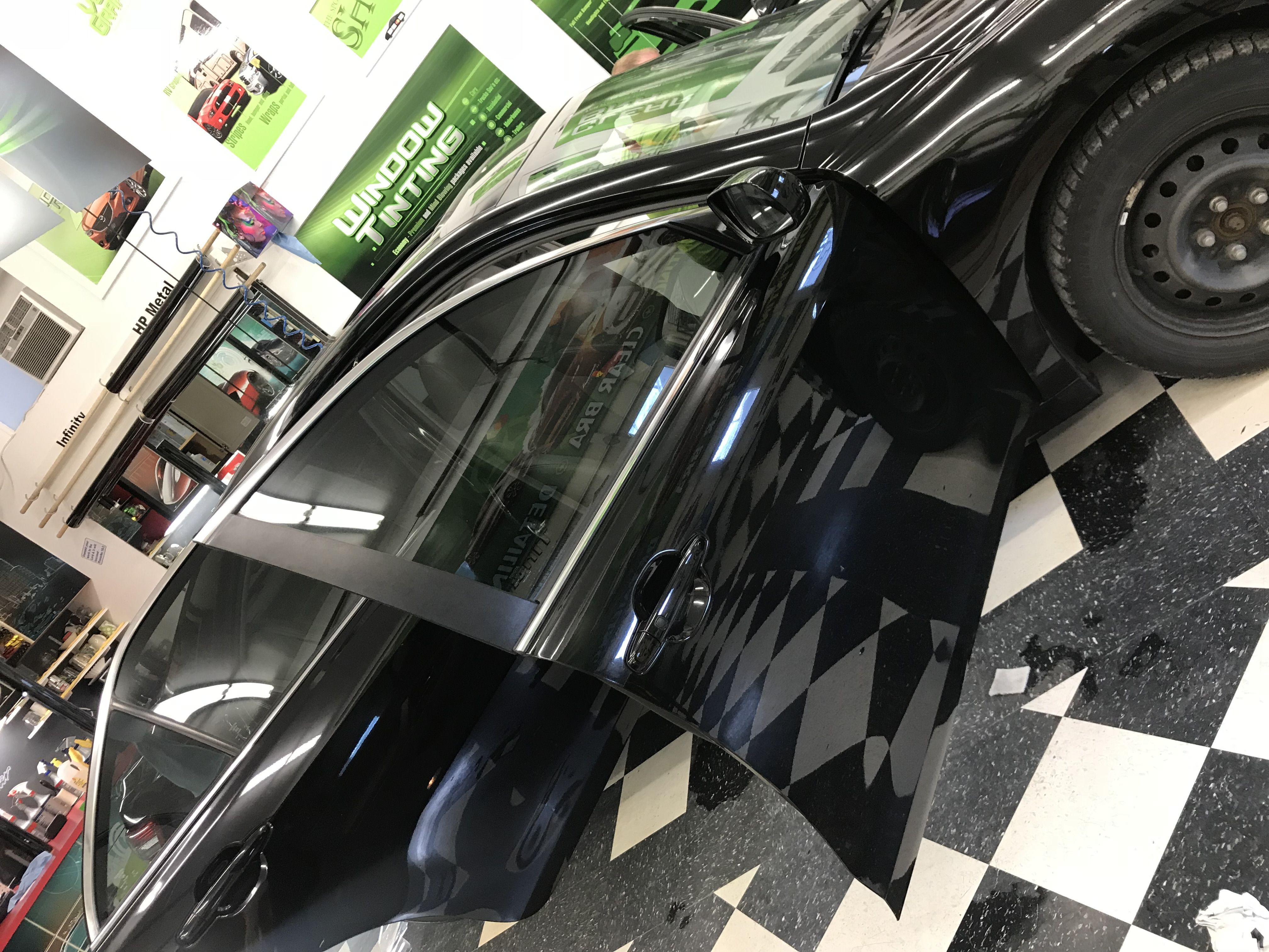 Nick did a fantastic job tinting this Camry here, clearly