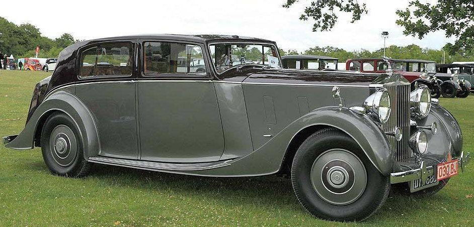 1937 Saloon By Park Ward Chassis 3bu186 Rolls Royce Retro Cars British Cars