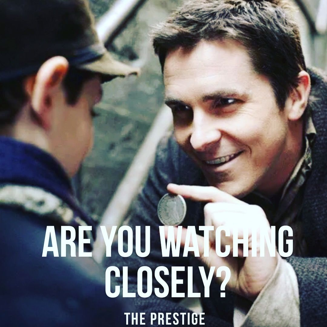 Happy Birthday Christian Bale The Prestige Movie Quotes
