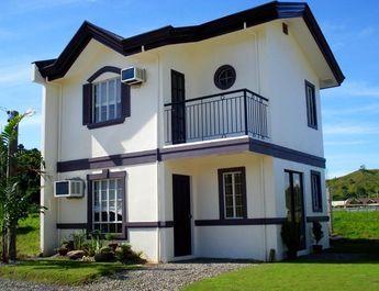 Fachadas modernas de dos pisos sin cochera fachadas de for Disenos de casas de dos pisos pequenas